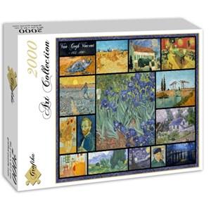 """Grafika (00837) - Vincent van Gogh: """"Collage"""" - 2000 pièces"""