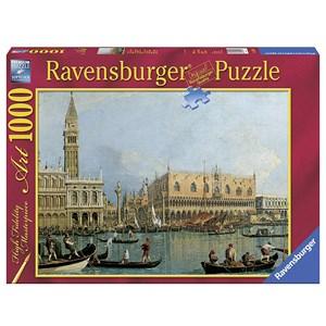 """Ravensburger (15402) - Canaletto: """"le Palais Ducal"""" - 1000 pièces"""