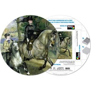 """Pigment Hue (RRENR-41205) - Pierre-Auguste Renoir: """"Femme à cheval"""" - 140 pièces"""