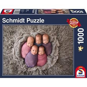 """Schmidt Spiele (58301) - """"Cinq d'un Coup"""" - 1000 pièces"""