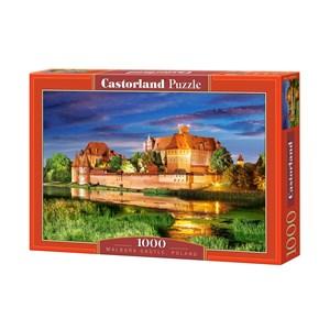 """Castorland (C-103010) - """"Château Malbork, Pologne"""" - 1000 pièces"""