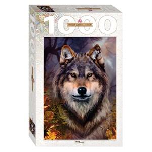 """Step Puzzle (79109) - Bente Schlick: """"Loup"""" - 1000 pièces"""