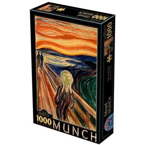 "D-Toys (72832-MU01) - Edvard Munch: ""Le Cri"" - 1000 pièces"