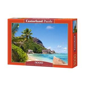 "Castorland (C-300228) - ""Tropical Beach, Seychelles"" - 3000 pièces"