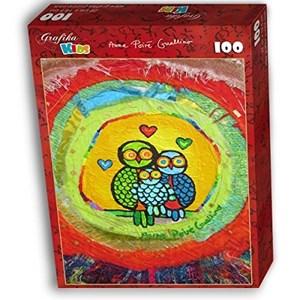 """Grafika Kids (01741) - Anne Poire, Patrick Guallino: """"Le Nid Porte-bonheur"""" - 100 pièces"""