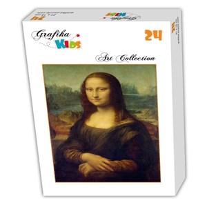 """Grafika (00060) - Leonardo Da Vinci: """"La Joconde, 1503-1506"""" - 24 pièces"""