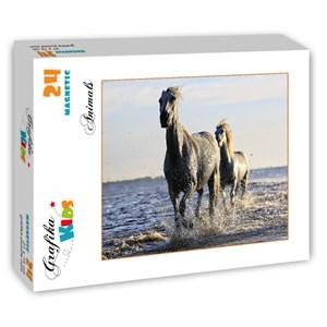 """Grafika Kids (01245) - """"Horses"""" - 24 pièces"""