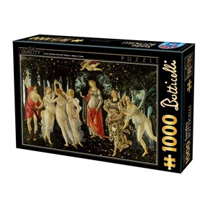"D-Toys (66954-RN05) - Sandro Botticelli: ""La Primavera"" - 1000 pièces"