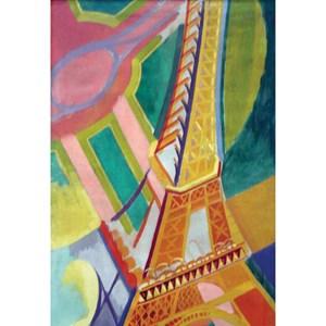 "Puzzle Michele Wilson (Z276) - Robert Delaunay: ""Eiffel Tower"" - 30 pièces"