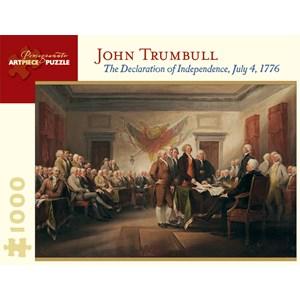 """Pomegranate (AA676) - John Trumbull: """"La Déclaration d'Indépendance, 4 Juillet 1776"""" - 1000 pièces"""
