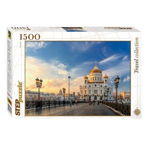 """Step Puzzle (83053) - """"Cathédrale du Christ-Sauveur de Moscou"""" - 1500 pièces"""