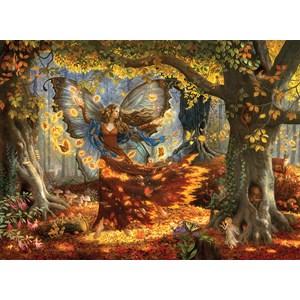 """SunsOut (76322) - Ruth Sanderson: """"Woodland Fairy"""" - 1500 pièces"""