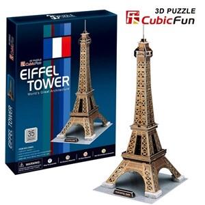 """Cubic Fun (C044H) - """"Tour Eiffel"""" - 35 pièces"""