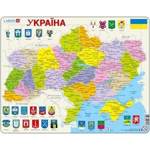 """Larsen (K57-UA) - """"Carte de l'Ukraine - UA"""" - 82 pièces"""