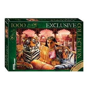 """Step Puzzle (79517) - """"Indian Princess"""" - 1000 pièces"""