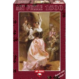 "Art Puzzle (4600) - Pino Daeni: ""Dancing in Barcelona"" - 1500 pièces"