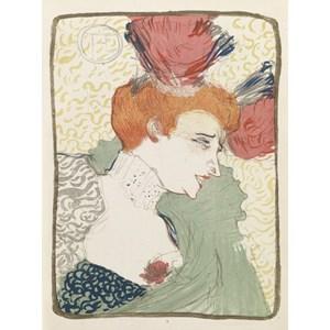 """Grafika (00173) - Henri de Toulouse-Lautrec: """"Mademoiselle Marcelle Lender, 1895"""" - 2000 pièces"""