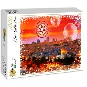 "Grafika (02473) - ""Travel around the World, Israel"" - 1000 pièces"