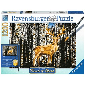 "Ravensburger (19936) - ""Cerf dans la Forêt"" - 1200 pièces"