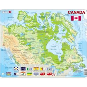 "Larsen (K19) - ""Carte du Canada"" - 100 pièces"