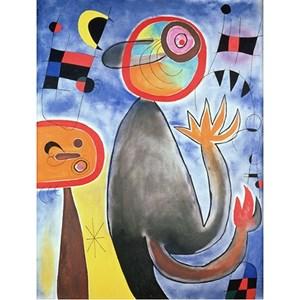 "Puzzle Michele Wilson (W152-12) - Joan Miro: ""Ladders Cross the Blue Sky in a Wheel of Fire"" - 12 pièces"