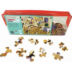 "Puzzle Michele Wilson (W154-50) - Joan Miro: ""Carnaval"" - 50 pièces"