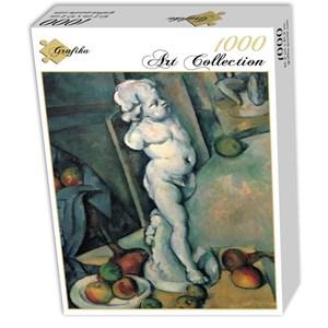 """Grafika (01292) - Paul Cezanne: """"Nature Morte au Cupidon de Plâtre, 1895"""" - 1000 pièces"""