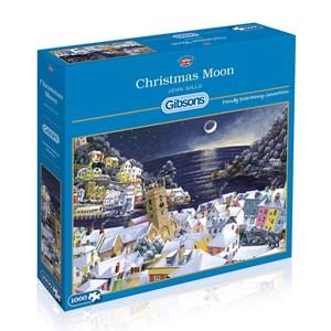 "Gibsons (G6198) - John Gillo: ""Christmas Moon"" - 1000 pièces"