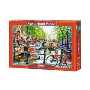 """Castorland (C-103133) - Richard Macneil: """"Amsterdam Landscape"""" - 1000 pièces"""