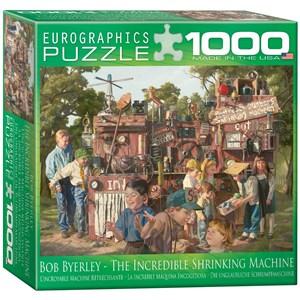"""Eurographics (8000-0445) - Bob Byerley: """"Mémoires d'enfants, La Machine Incroyable"""" - 1000 pièces"""