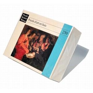 """Puzzle Michele Wilson (A102-250) - Georges de La Tour: """"Adoration of the Shepherds"""" - 250 pièces"""