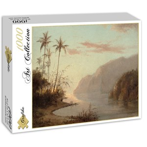 "Grafika (02016) - Camille Pissarro: ""Creek in St. Thomas, Virgin Islands, 1856"" - 1000 pièces"