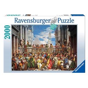 """Ravensburger (16653) - Paul Véronèse: """"Les noces de Cana"""" - 2000 pièces"""