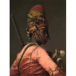 "Grafika (00449) - Jean-Leon Gerome: ""Chef Bachi-Bazouk, 1869"" - 2000 pièces"