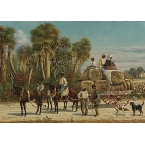 """Grafika (00379) - William Aiken Walker: """"Cotton Wagon, 1883"""" - 1000 pièces"""