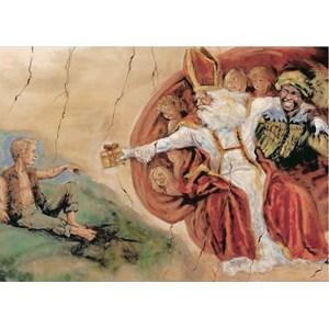 """PuzzelMan (258) - """"Le Père Noël avec les enfants"""" - 99 pièces"""