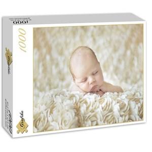 "Grafika (01606) - Konrad Bak: ""Baby sleeping in the Roses"" - 1000 pièces"