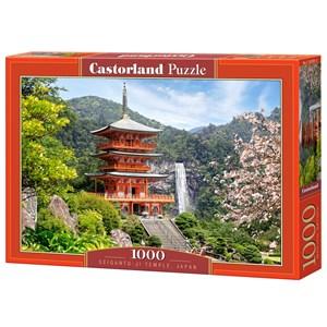 """Castorland (C-103201) - """"Seiganto-Ji Temple, Japan"""" - 1000 pièces"""