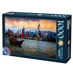 "D-Toys (64301-NL05) - ""Hong-Kong, Baie de Hong-Kong"" - 1000 pièces"
