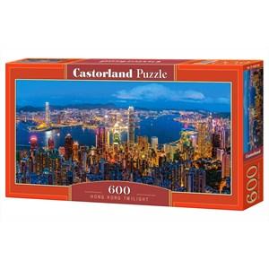 "Castorland (B-060290) - ""Hong Kong Twilight"" - 600 pièces"