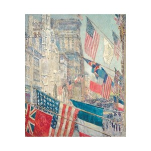 """Puzzle Michele Wilson (A237-350) - Childe Hassam: """"Allies Day May 1917"""" - 350 pièces"""