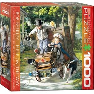 """Eurographics (8000-0439) - Bob Byerley: """"Mémoires d'enfants - Les secours arrivent"""" - 1000 pièces"""