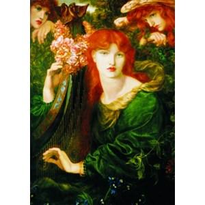 "Gold Puzzle (60584) - Dante Gabriel Rossetti: ""La Ghirlandata"" - 1000 pièces"