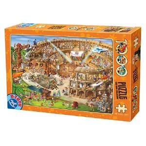 """D-Toys (61218-CC10) - """"Construction du Colisée"""" - 1000 pièces"""