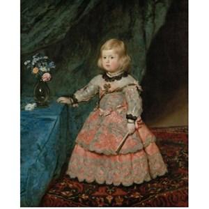 "Piatnik (540240) - Diego Vélasquez: ""Infantin Margarita Teresa"" - 1000 pièces"