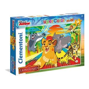 """Clementoni (24056) - """"The Lion Guard"""" - 24 pièces"""