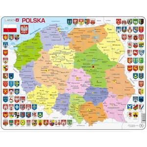 """Larsen (K97) - """"Carte de la Pologne - PL"""" - 70 pièces"""