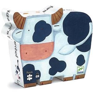 """Djeco (07205) - """"Vaches à la ferme"""" - 24 pièces"""