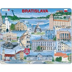 """Larsen (KH17-SL) - """"Souvenirs de Bratislava, Slovaquie - SL"""" - 65 pièces"""