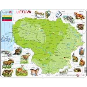 """Larsen (K47-LT) - """"Carte de la Lituanie (en Lituanien)"""" - 60 pièces"""